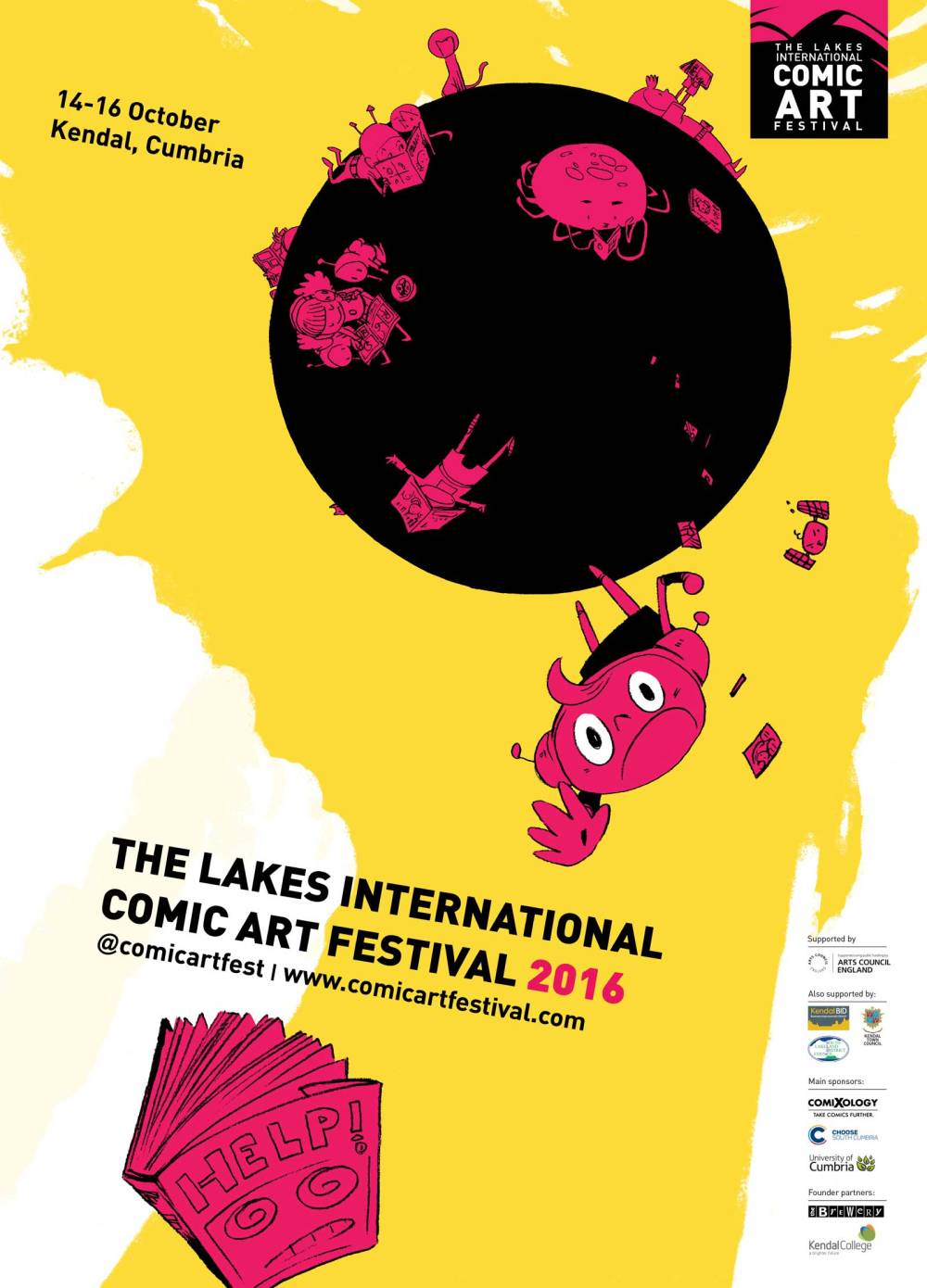 Lakes International Comic Art Festival Poster 2016